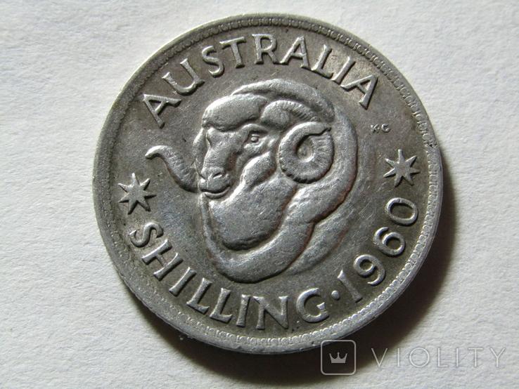 Шиллинг 1960 Австралия, фото №2