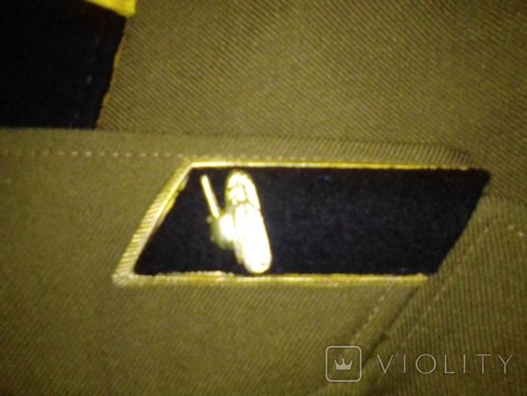 Китель младшего сержанта СССР танковых войск плюс бирет и пилотка, фото №3