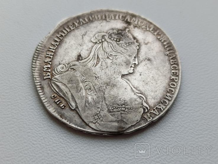 Рубль 1738 СПБ (R - по Биткину), фото №4