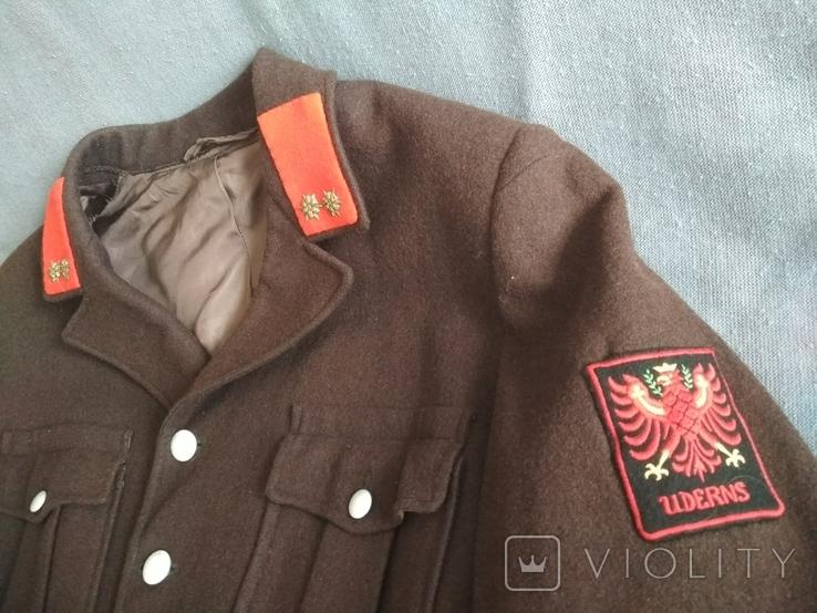 Австрия Uderns Гимнастёрка Пиджак военный, фото №5