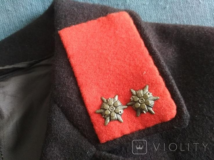 Австрия Uderns Гимнастёрка Пиджак военный, фото №6