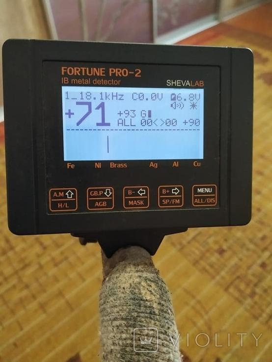 Металлоискатель Фортуна Про - 2 с катушкой 32х24, фото №3