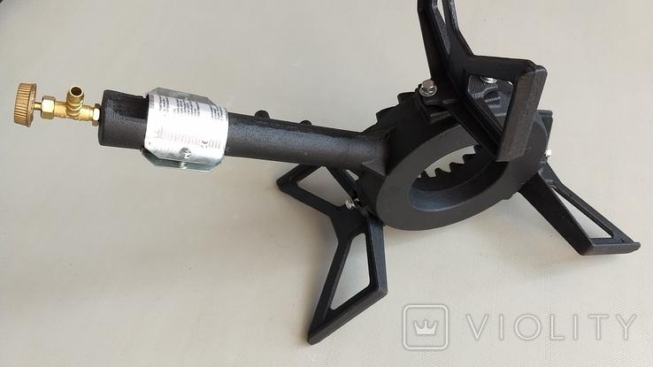 Чугунная газовая горелка для казана или самогонного аппарата, фото №10