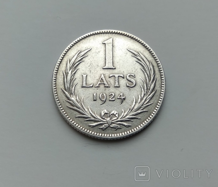 1 лат 1924, фото №2