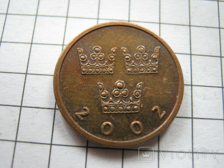 Швеция 50 эре 2002 года, фото №2