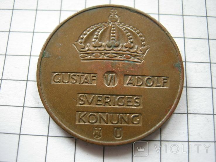 Швеция 5 эре 1964 года, фото №3