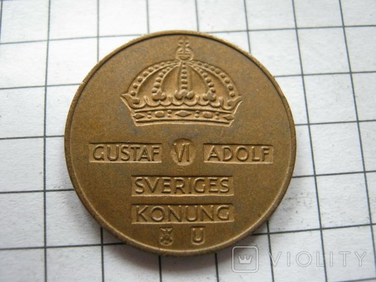 Швеция 2 эре 1965 года, фото №3