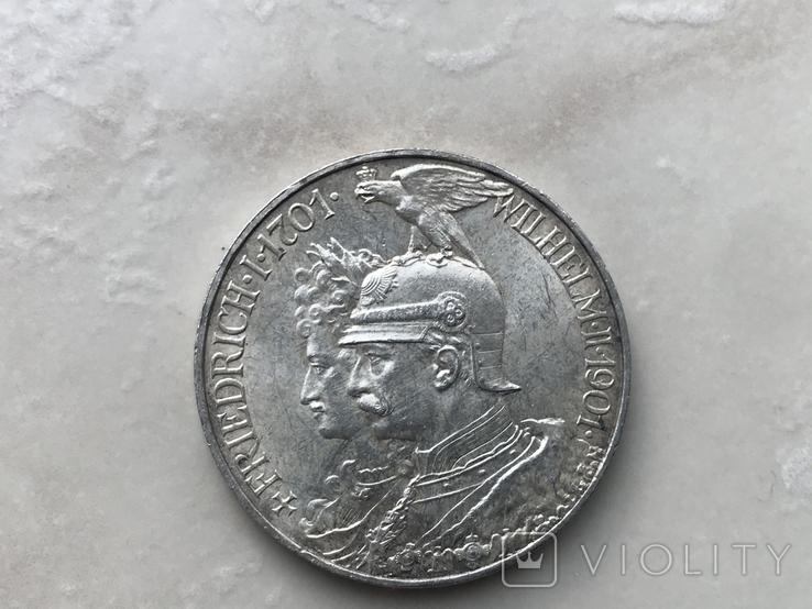 5марок-1901р. 200років Прусії, фото №2