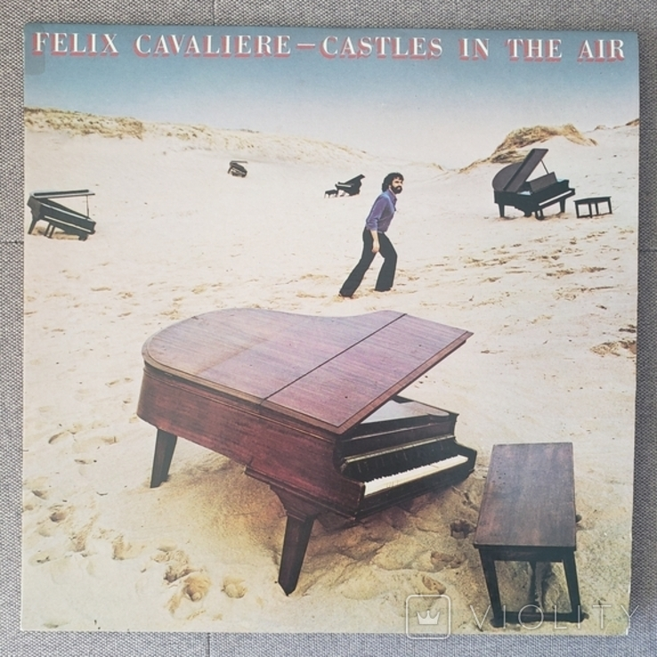 "Платівка ""Felix Cavaliere Castles In The Air"" 1979, фото №2"