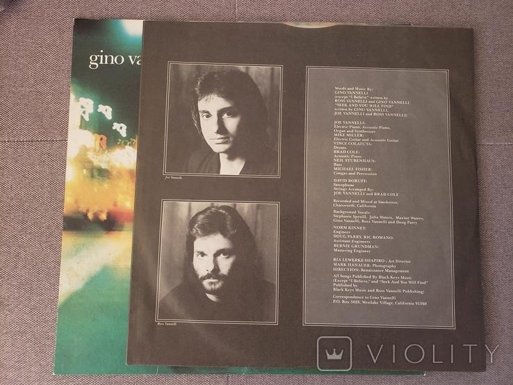 "Платівкa ""Gino Vannelli Nightwalker""1981, фото №5"