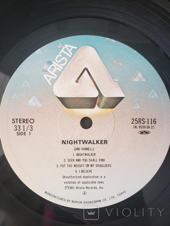 "Платівкa ""Gino Vannelli Nightwalker""1981, фото №6"