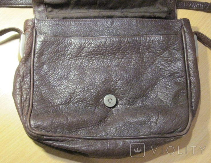 """Винтажная кожанная сумка """" Faigen"""", фото №5"""