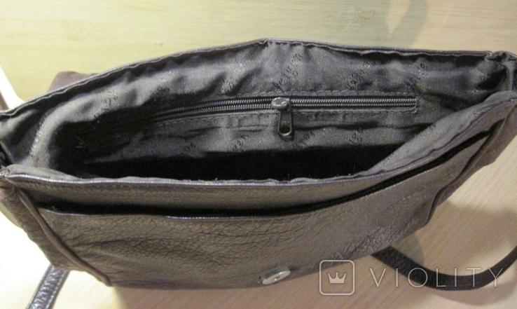 """Винтажная кожанная сумка """" Faigen"""", фото №6"""