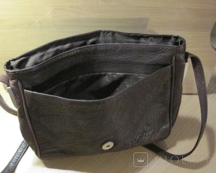 """Винтажная кожанная сумка """" Faigen"""", фото №7"""