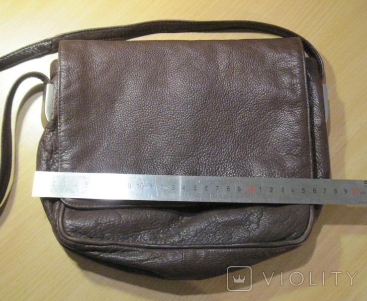 """Винтажная кожанная сумка """" Faigen"""", фото №8"""