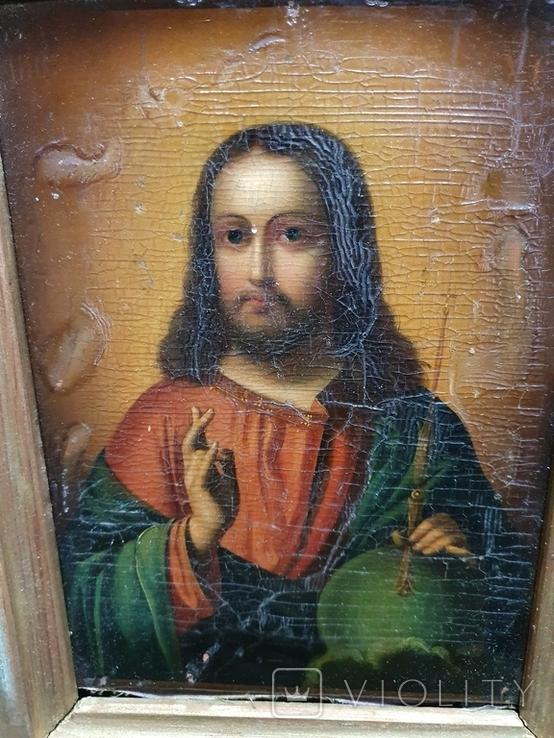 "Икона ""Иисус Христос "", фото №4"