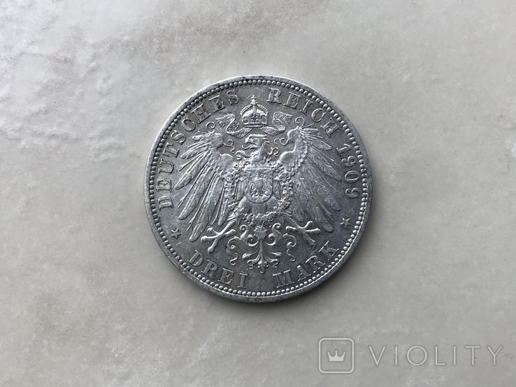 3марки-1909р.Шварзбург Сондерхауз, фото №3