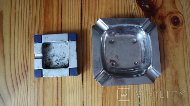 2 пепельницы, фото №3