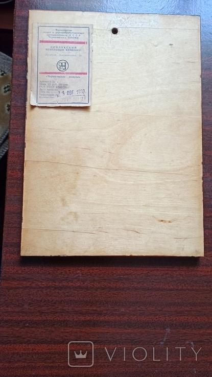 Апликация сувенир 1980 год., фото №4