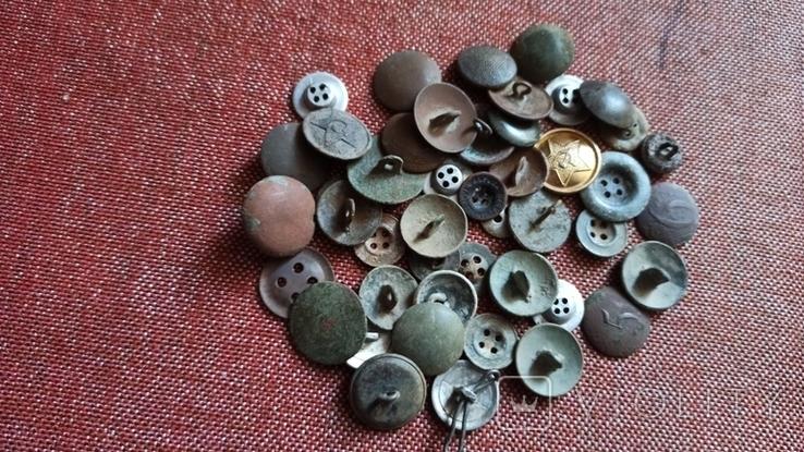 Старые разные пуговицы., фото №6