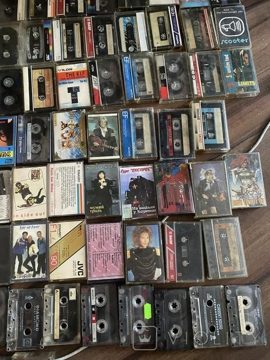 80 аудиокассет, разные исполнители., фото №5