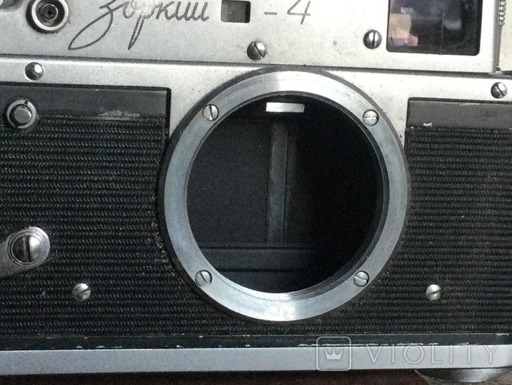 СССР 1967 фотоаппарат Зоркий - 4 именной подарок, фото №3