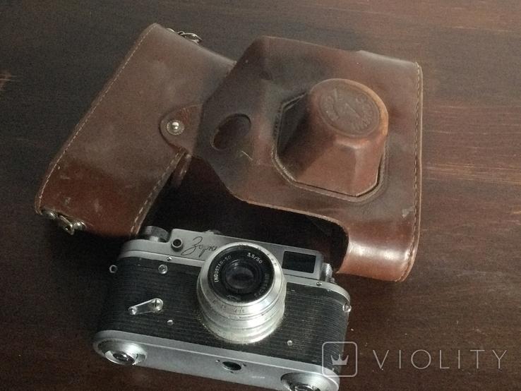 СССР 1967 фотоаппарат Зоркий - 4 именной подарок, фото №6