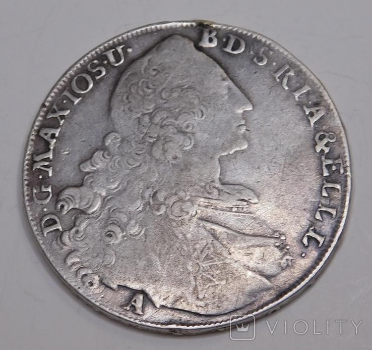 Талер Бавария 1770, фото №2