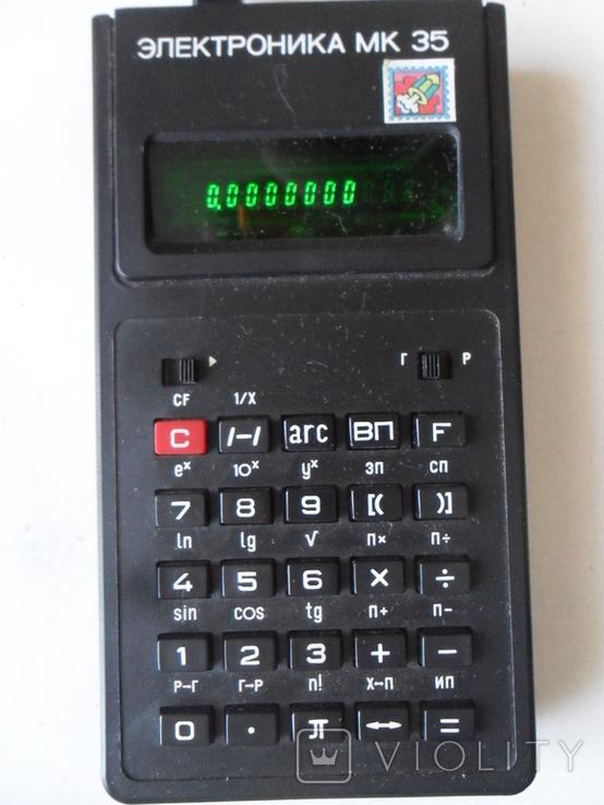 Калькулятор Электроника МК 35, фото №2