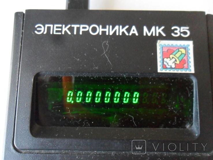 Калькулятор Электроника МК 35, фото №3
