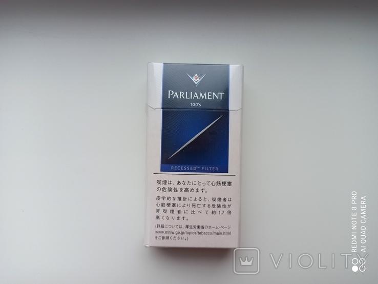 Сигареты Parliament (Японские), фото №2