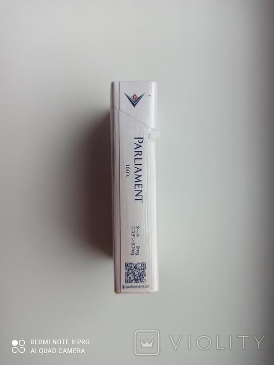 Сигареты Parliament (Японские), фото №4