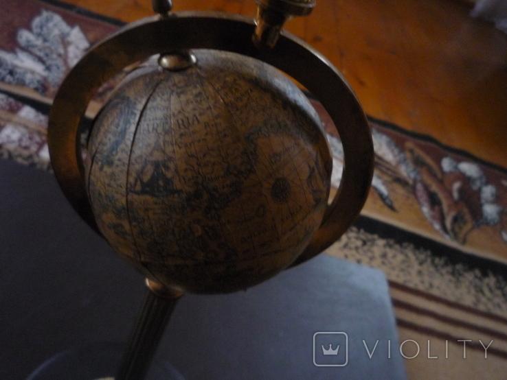 Офисная большая пепельница с глобусом венгрия, фото №5