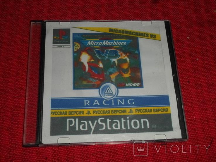 Диск-игра для Playstation.№40, фото №2