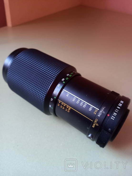 Sun-zoom macro 1:3,8 70-210 mm, фото №6