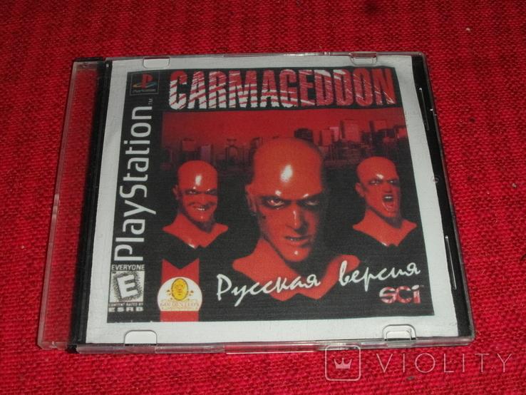 Диск-игра для Playstation.№51, фото №2