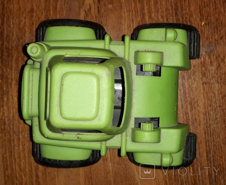 Игрушка, трактор, зелёный., фото №5