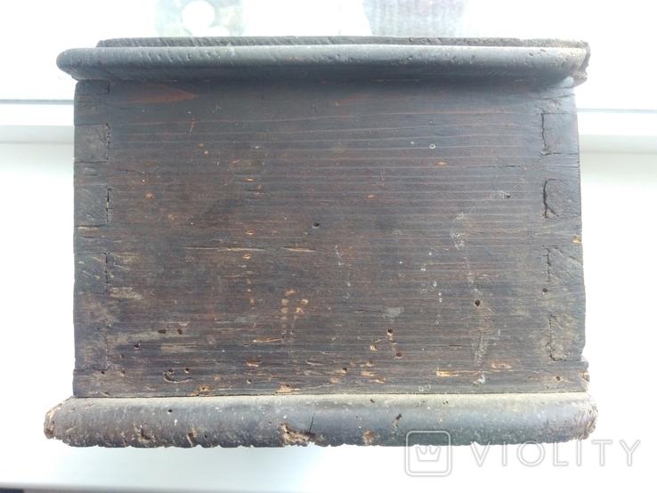 Деревянная шкатулка, фото №6