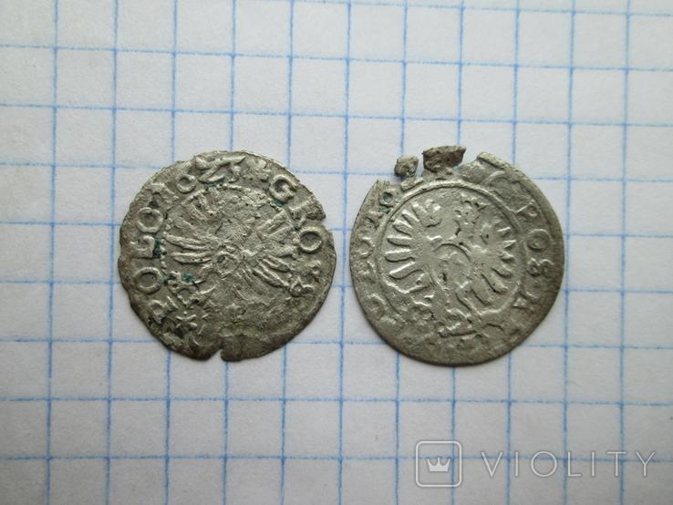 Коронний грош 1623-1624гг. 2шт. №13, фото №2