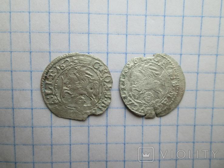Грош 1625-1626гг. 2шт. №15, фото №2