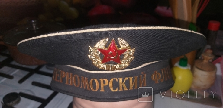 """Бескозырка """"Черноморский Флот"""", фото №2"""