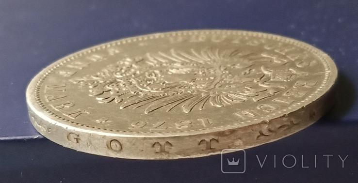 5 марок 1876 р. Вюртемберг, фото №8