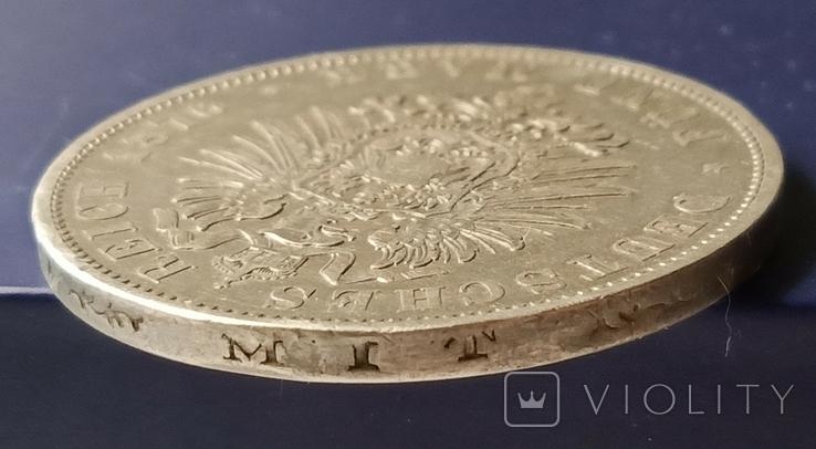 5 марок 1876 р. Вюртемберг, фото №10