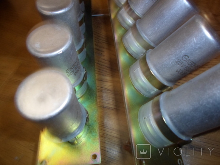 Блок конденсаторов, фото №7