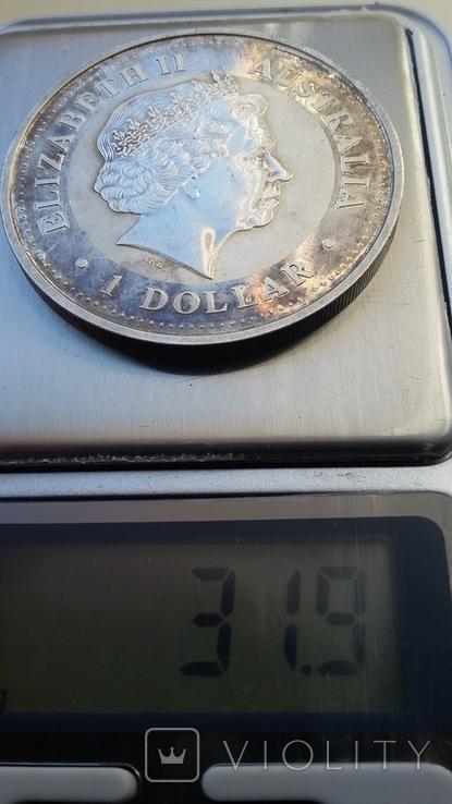 Австралийский серебряный доллар, фото №4