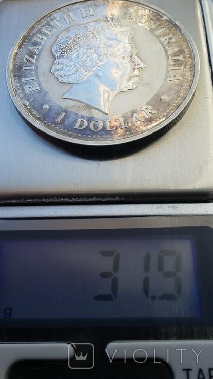 Австралийский серебряный доллар, фото №5