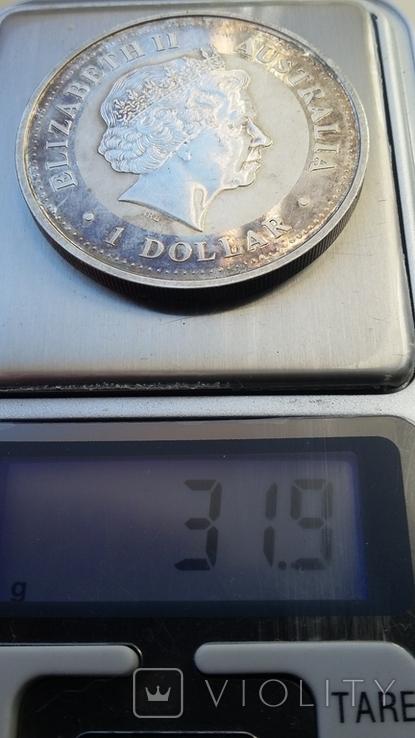 Австралийский серебряный доллар, фото №6