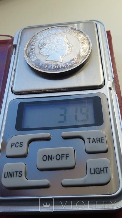 Австралийский серебряный доллар, фото №7