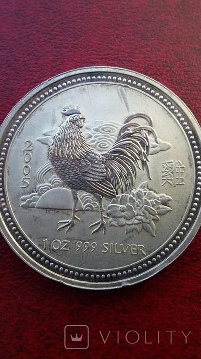 Австралийский серебряный доллар, фото №8