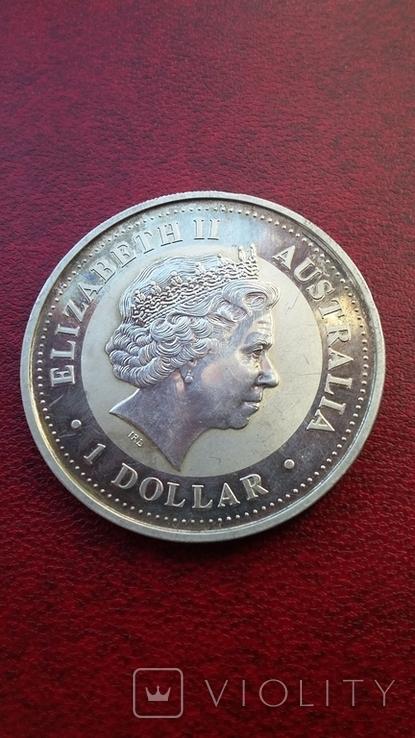 Австралийский серебряный доллар, фото №2
